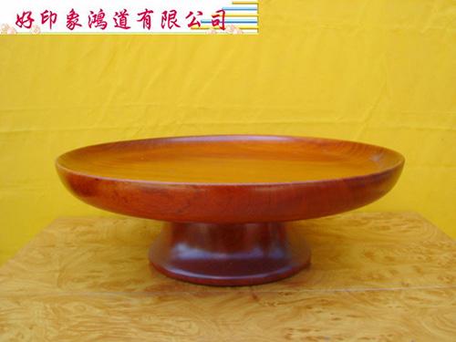 木製敬果盤23cm
