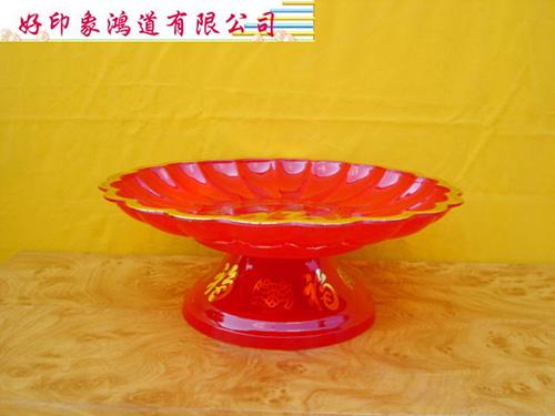 塑膠敬果盤(中)20cm