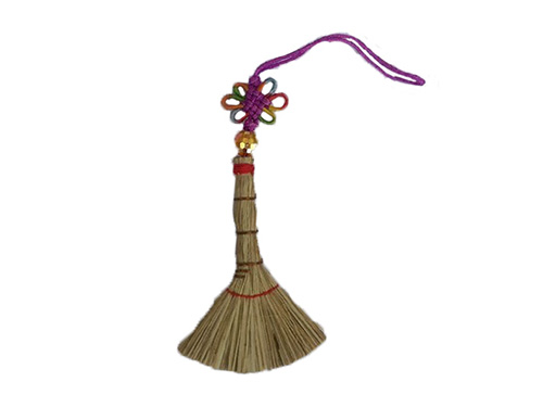 糠榔掃帚(天地掃)掛飾