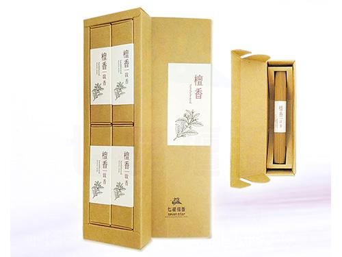 3.5寸檀香線香精裝禮盒(4小盒入)