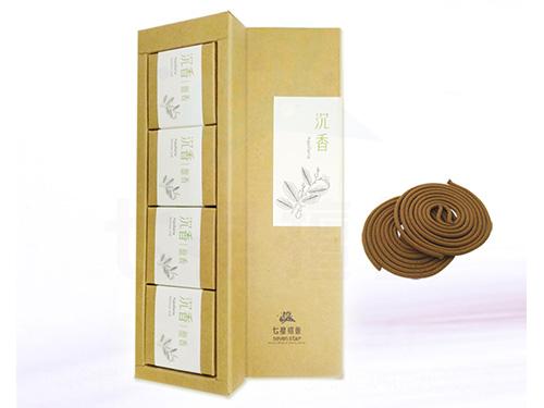 沉香盤香精裝禮盒(4小盒入)