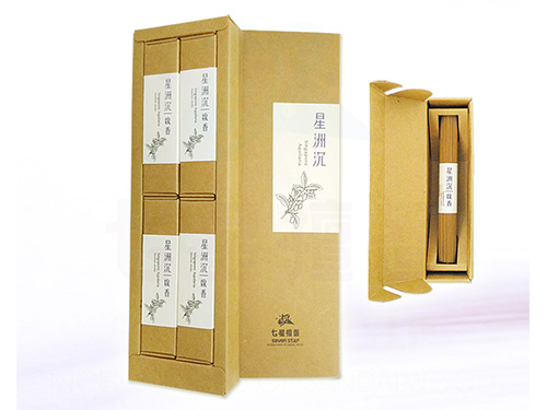3.5寸星州沉香線香精裝禮盒(4小盒入)