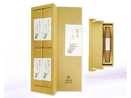 3.5寸惠安沉香線香精裝禮盒(4小盒入)
