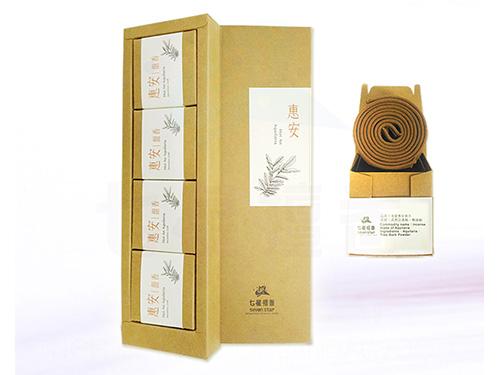 惠安沉香盤香精裝禮盒(4小盒入)