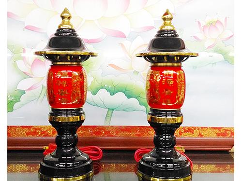 小吉祥紅神燈(古)9.3寸