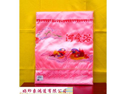 門簾(粉色、紅色)