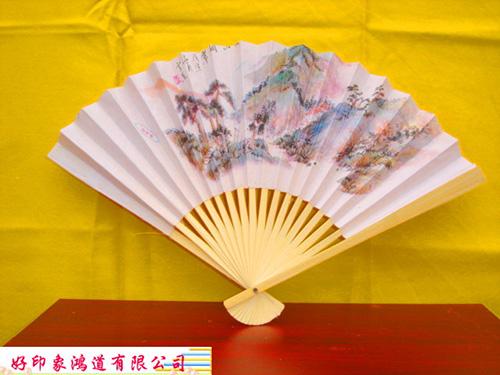 扇子-紙扇(絹扇)