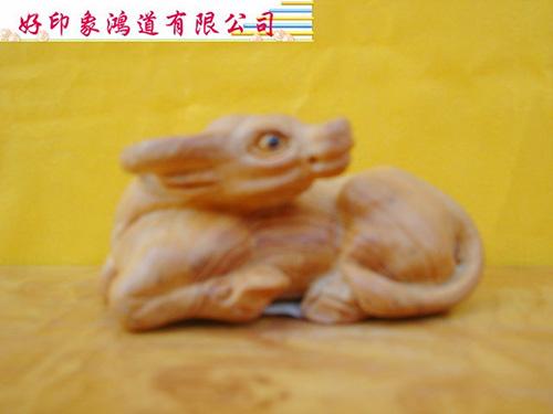 木雕十二生肖(牛)