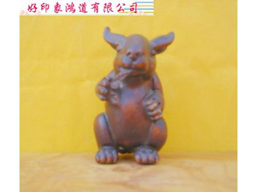 木雕十二生肖(兔)