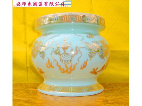 6寸大肚瓷爐(龍)