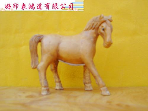 木雕十二生肖(馬)