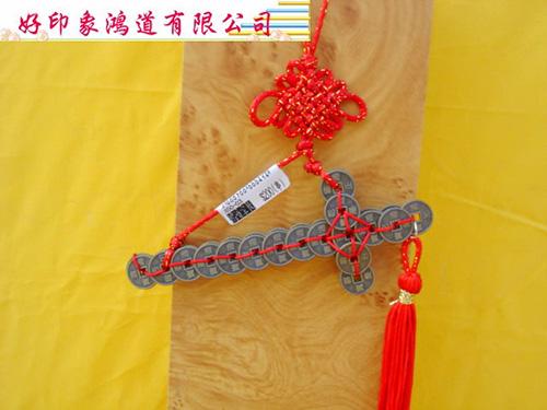 小金錢劍吊飾14cm