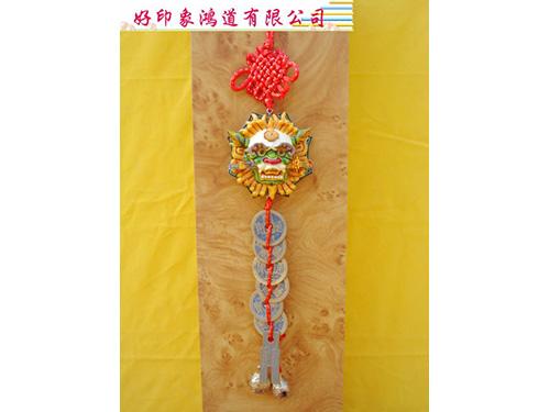 六帝銅錢(獅頭、麒麟)37cm