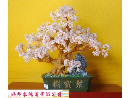 粉晶水晶樹(特大)