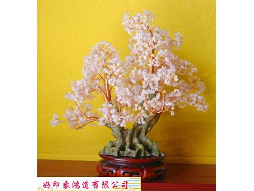 粉晶水晶樹(大)